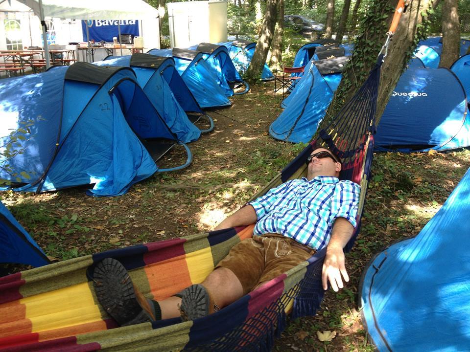 Camping Oktoberfest Munchen
